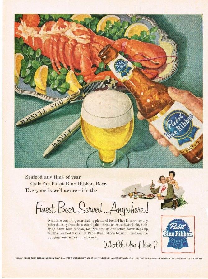 pbr-1954-lobster