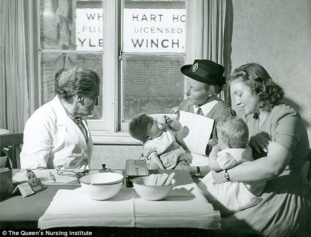 NHS 70 - Maternal and Child Health in the beginning