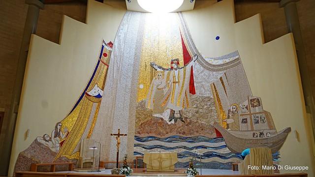 Mosaico chiesa Immacolata Modugno