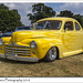 Classic American Yellow Ford