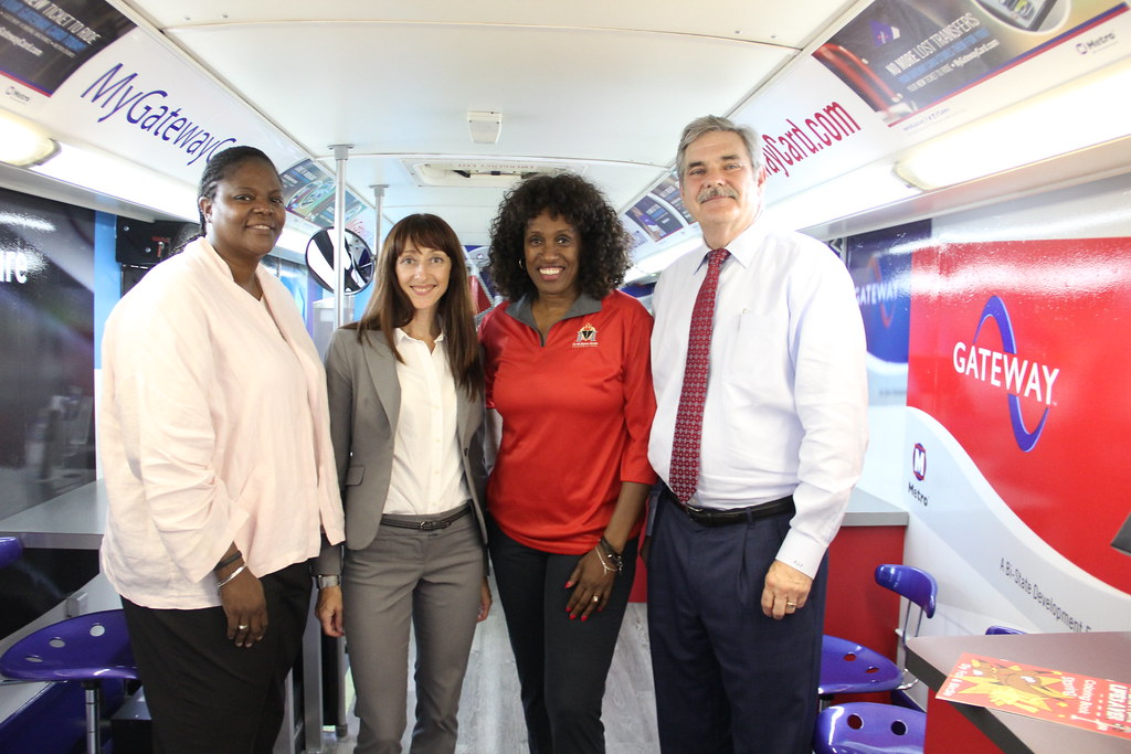 Jackie Joyner-Kersee Foundation Gateway Go Card Event