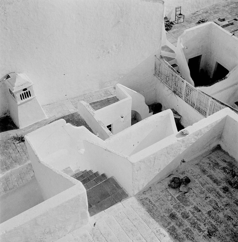 Olhão, geometria de formas (A. Pastor, 194…-65)