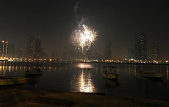 Firework in Sharjah