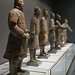 The line of Terracotta Warriors