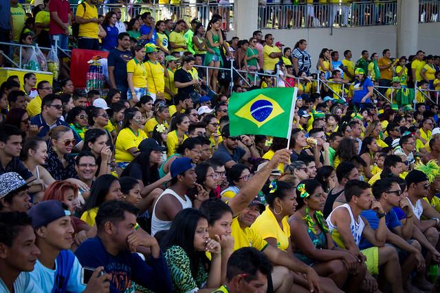 27.06.18 Transmissão do jogo da Seleção Brasileira de Futebol