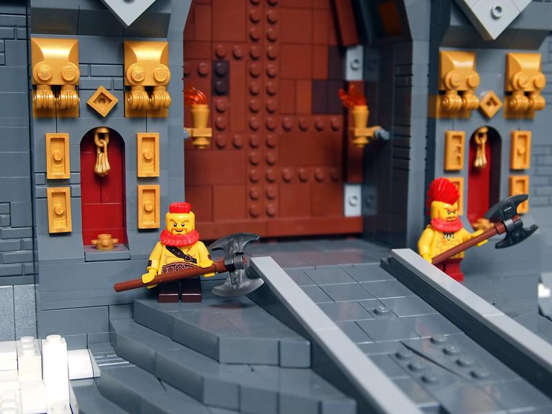 gates lego moc