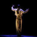 """Répétition du spectacle """"Un corps infini"""" de Olga Pericet"""