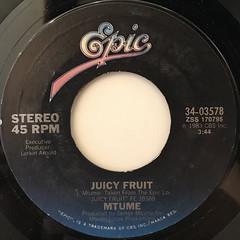 MTUME:JUICY FRUIT(LABEL SIDE-A)