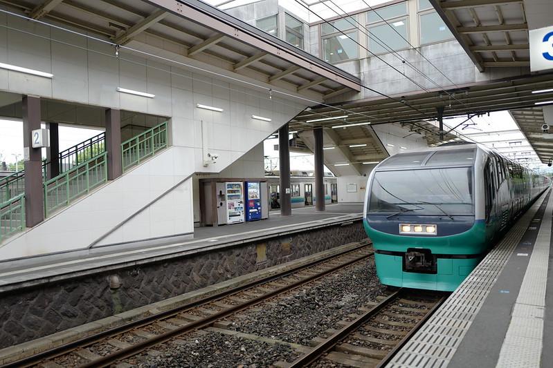 伊豆高原駅スーパービュー踊り子号