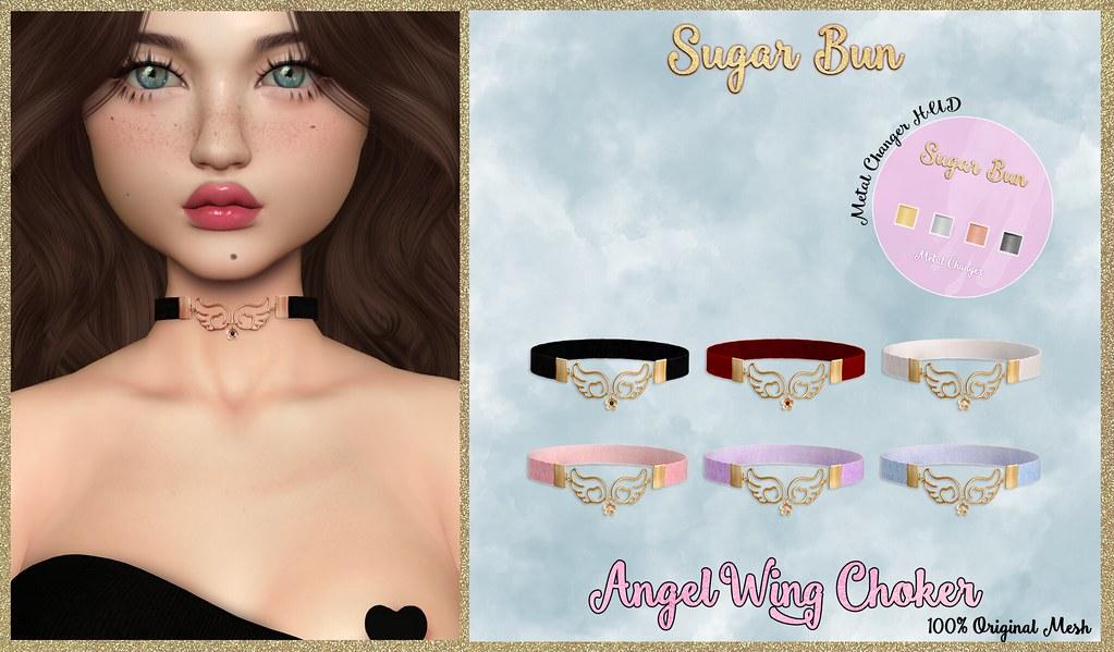 AngelWing Choker @Limit8 - TeleportHub.com Live!