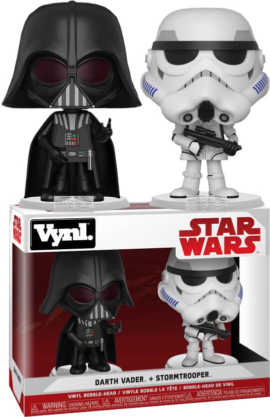 經典組合永遠不嫌多,各種風格都要收藏啊~ Funko Vynl. 系列 星際大戰【達斯·維德&帝國風暴兵】Star Wars - Darth Vader & Stormtrooper