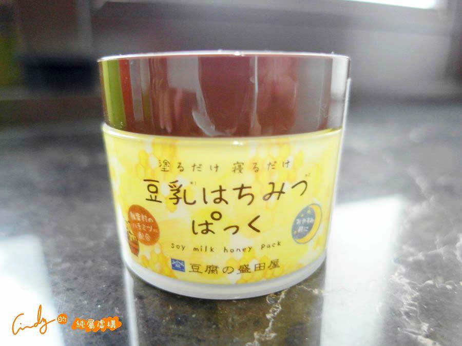 蜂蜜豆乳全效保濕凍膜