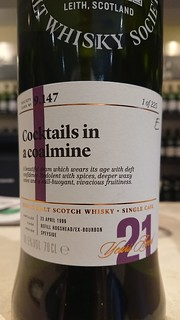 SMWS 9.147 - Cocktails in a coalmine