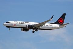C-FSNQ Boeing 737 MAX 8 Air Canada YVR 17JUL18