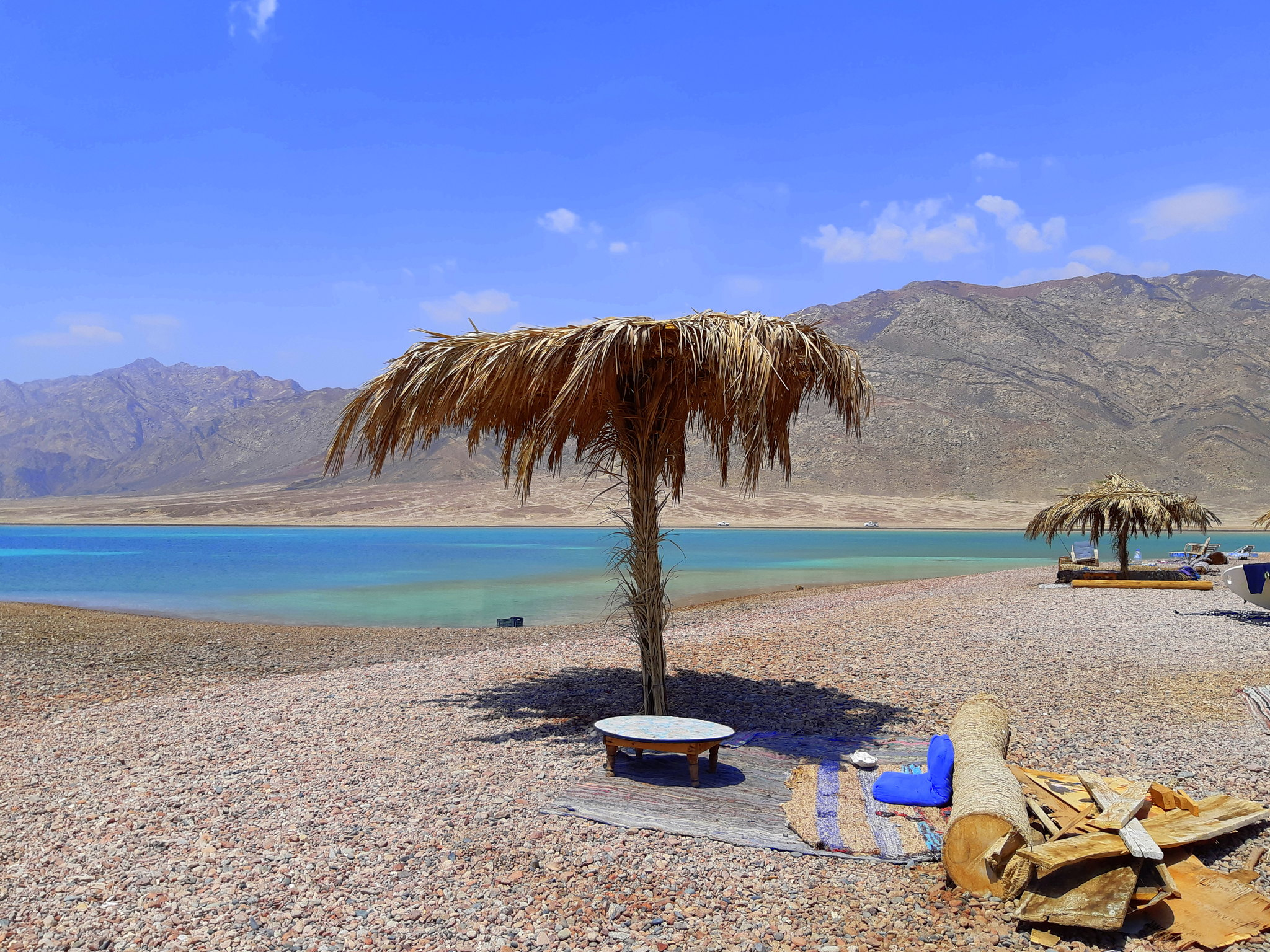 Dahab has sunshine throughout the year