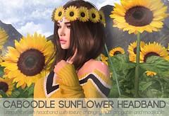 Caboodle - Sunflower Headband (FREE GIFT @SL15B)