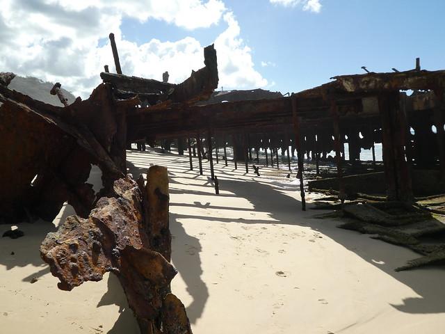 Maheno Shipwreck Fraser island. (8)