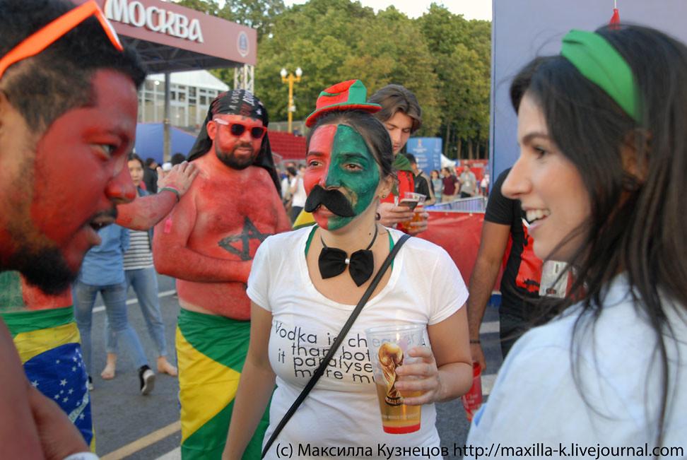Portuguese mustache girl