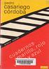Pedro Casariego C�rdoba, Cuadernos amarillo rojo verde y azul