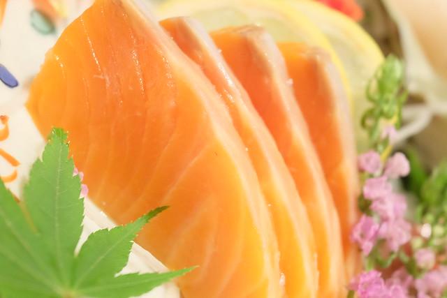 サーモン 本日の鮮魚 五点盛り合わせ