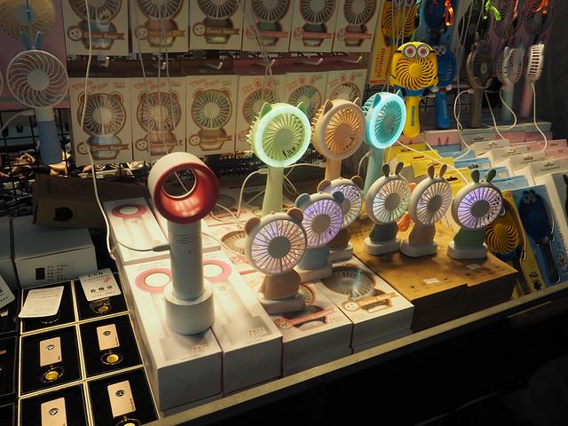 P6147904 韓国 ソウル Zero 9 handy fan 羽根なし扇風機 dyson(ダイソン) ひめごと