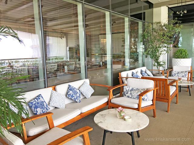 Outdoor Terrace at Al Maeda