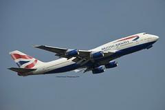 City of Hereford British Airways G-CIVH Boeing 747-436 cn/25809-1078 @