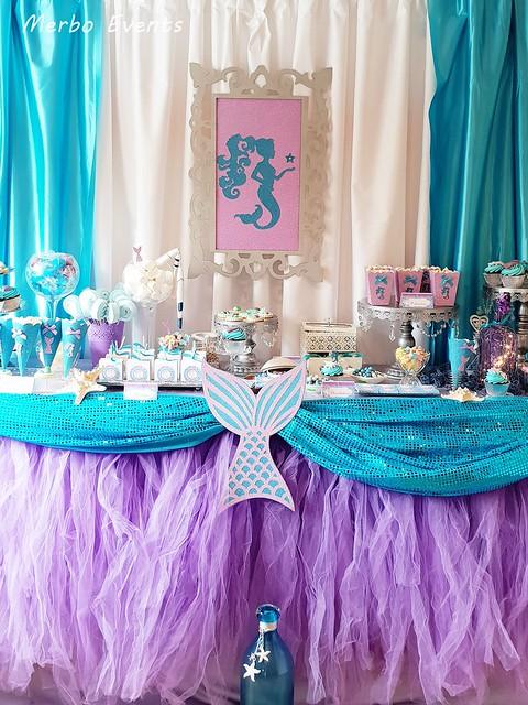 Mesa dulce Sirenita MErbo events