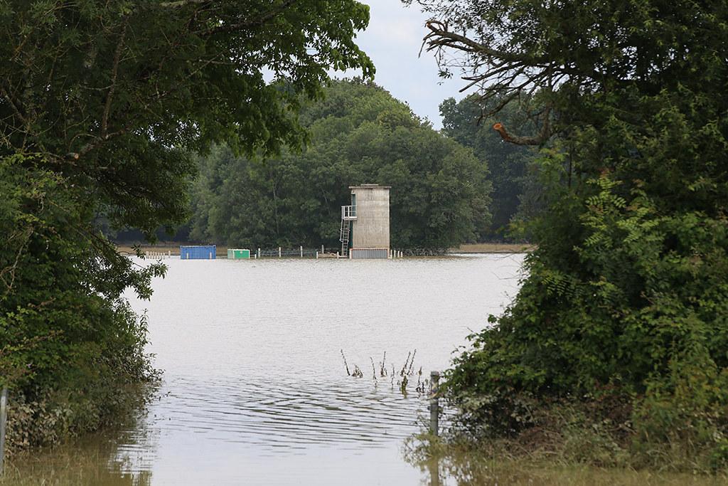 Dégâts des inondations suite aux intempéries de juin