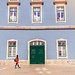 Walking in the streets of Lisbon, Portugal