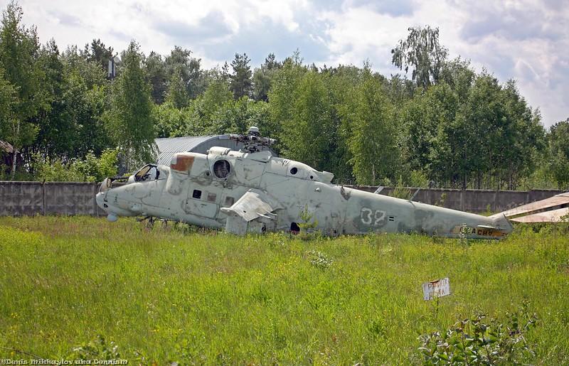 Вертолёт Ми-24П.