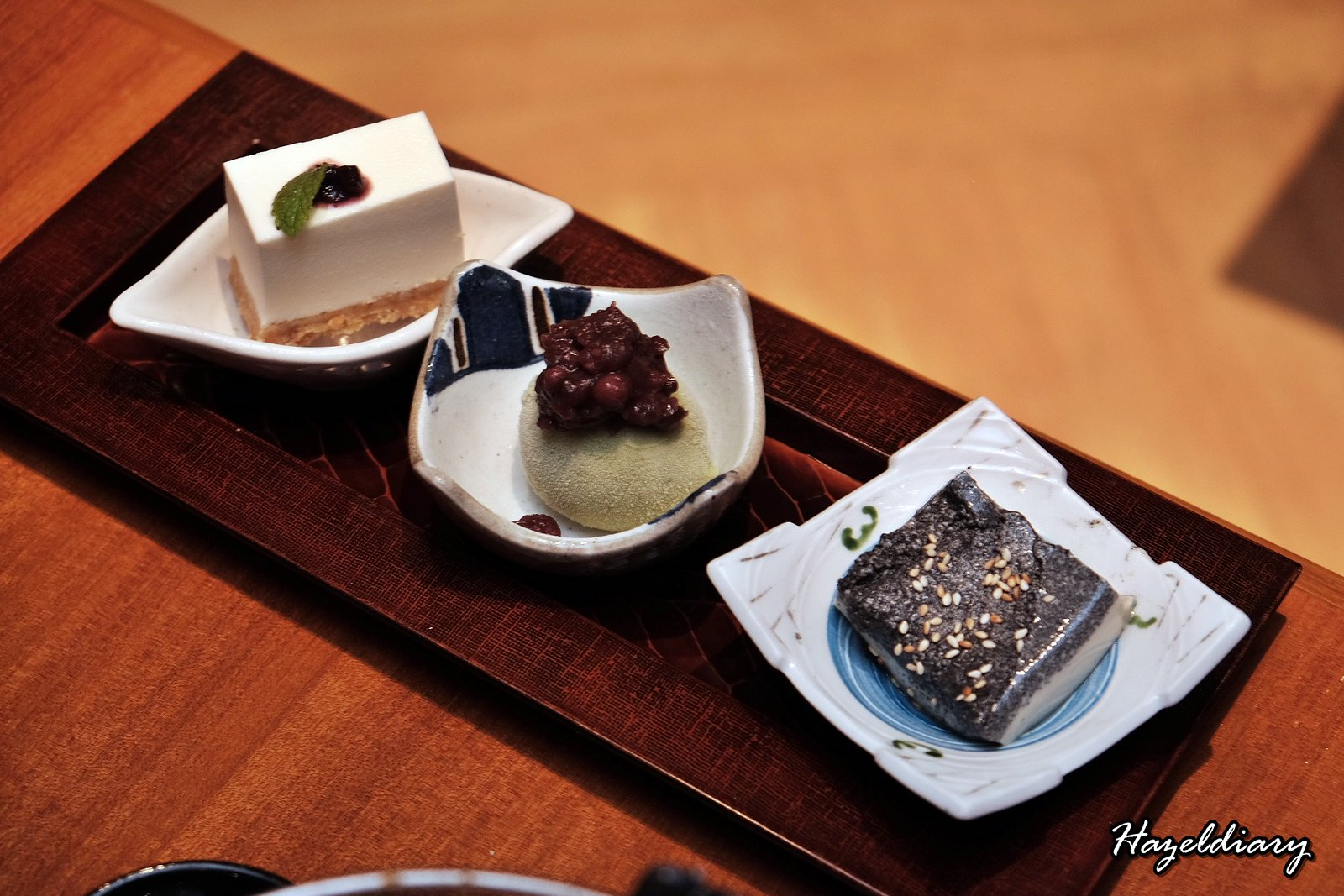Sun with Moon Japanese Restaurant-Trio Desserts