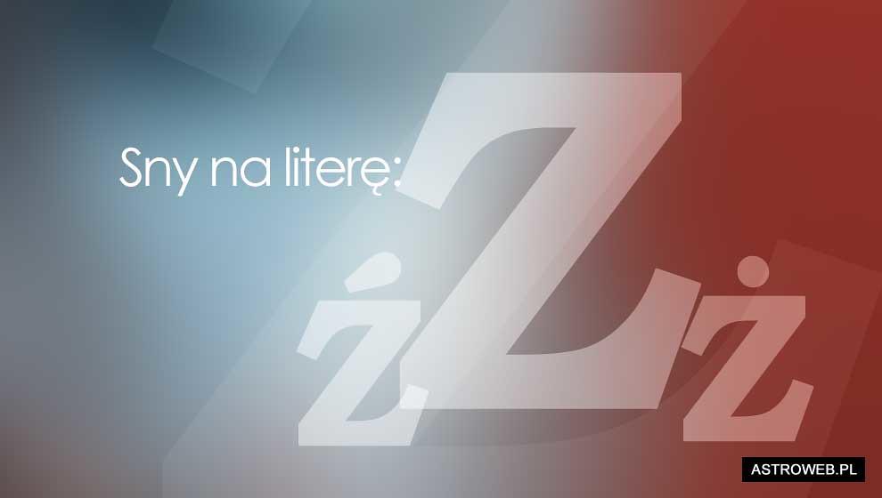 Sennik litera Z