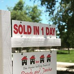 "What can I say here that won't result in a ""that's what she said"" comment? House is sold! Thanks Janine! by bartlewife"