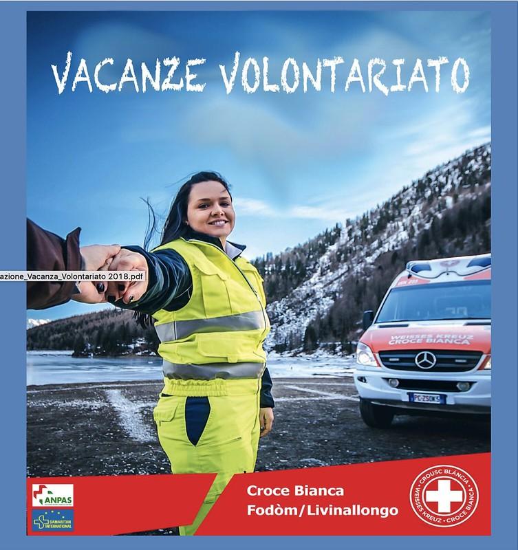 Vacanze e volontariato con la Croce Bianca