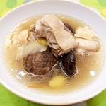 180705 白果香菇雞肉湯-01
