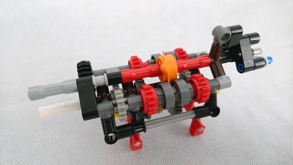 A non practical gearbox