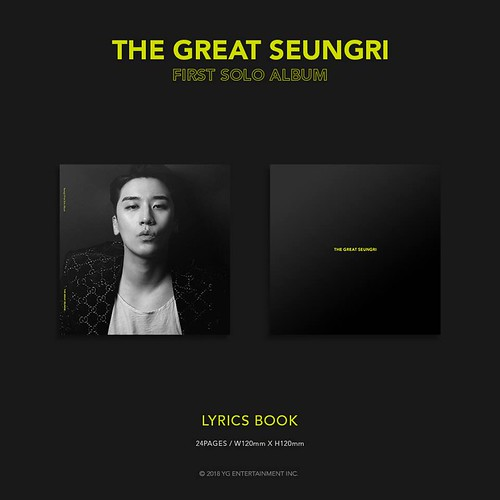 Seungri THE GREAT SEUNGRI Solo Album 2018 (6)