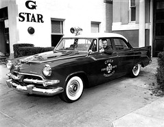 New Peekskill Fire Chief Car_1956