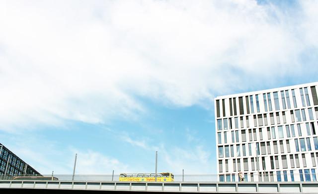 yellow bus Berlin