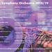 Ealing Symphony Orchestra 2018/19 programme
