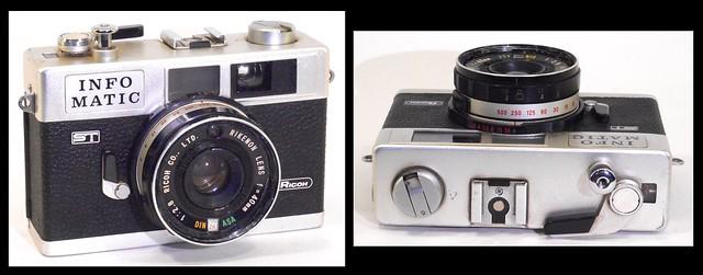 Ricoh Infomatic ST camera, Nikon COOLPIX S3700