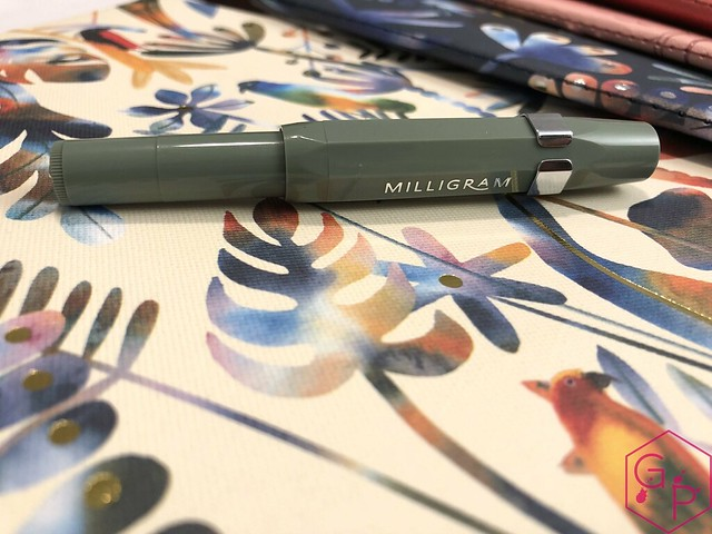 Kaweco x Milligram Skyline Sage Fountain Pen Review @Kaweco_Germany @MilligramStore 17