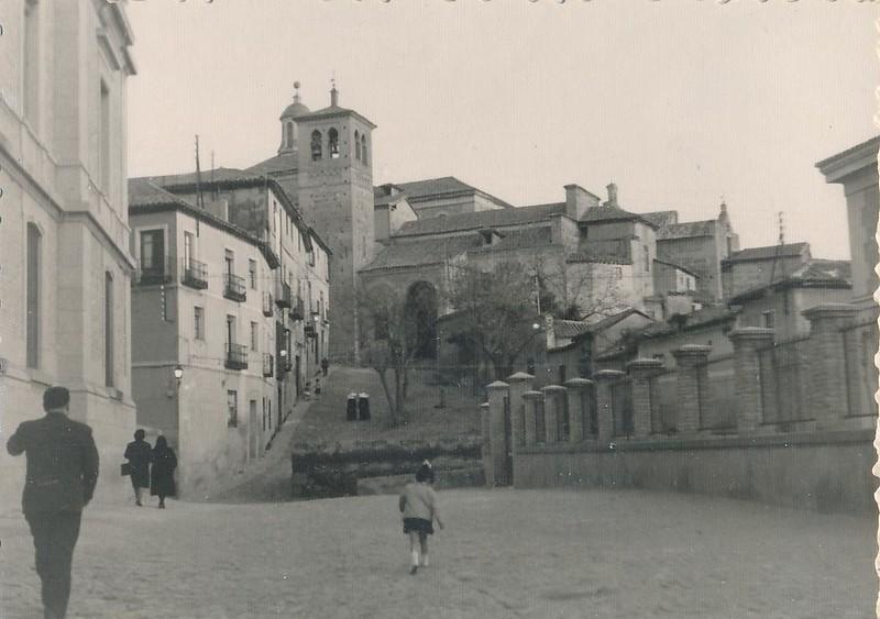 Iglesia de Santa Leocadia en 1962. Fotografía de Julián C.T.