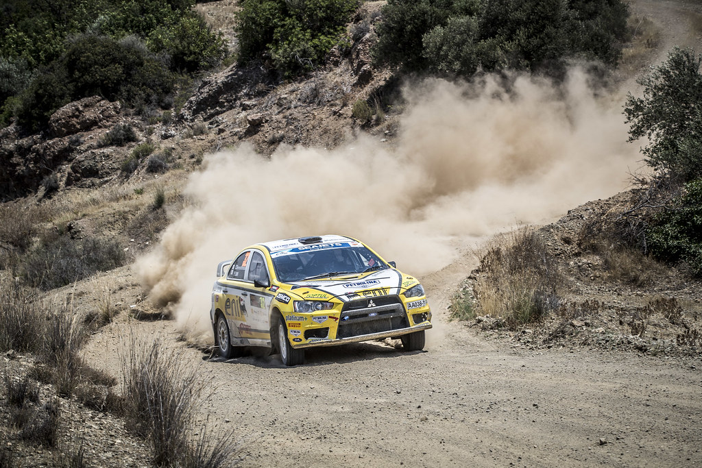 during the 2018 European Rally Championship ERC Cyprus Rally,  from june 15 to 17  at Larnaca, Cyprus - Photo Gregory Lenormand / DPPI
