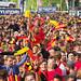 WK 2018 Rusland: België - Panama in Fan Village Antwerpen