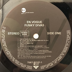 EN VOGUE:FUNKY DIVAS(LABEL SIDE-A)