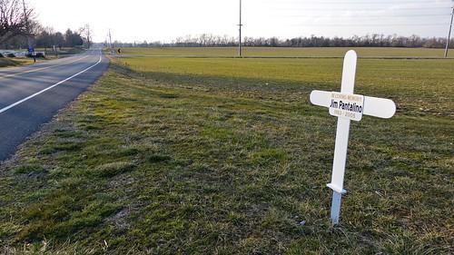 Roadside Memorial for Jim Pantalino (1 of 1)