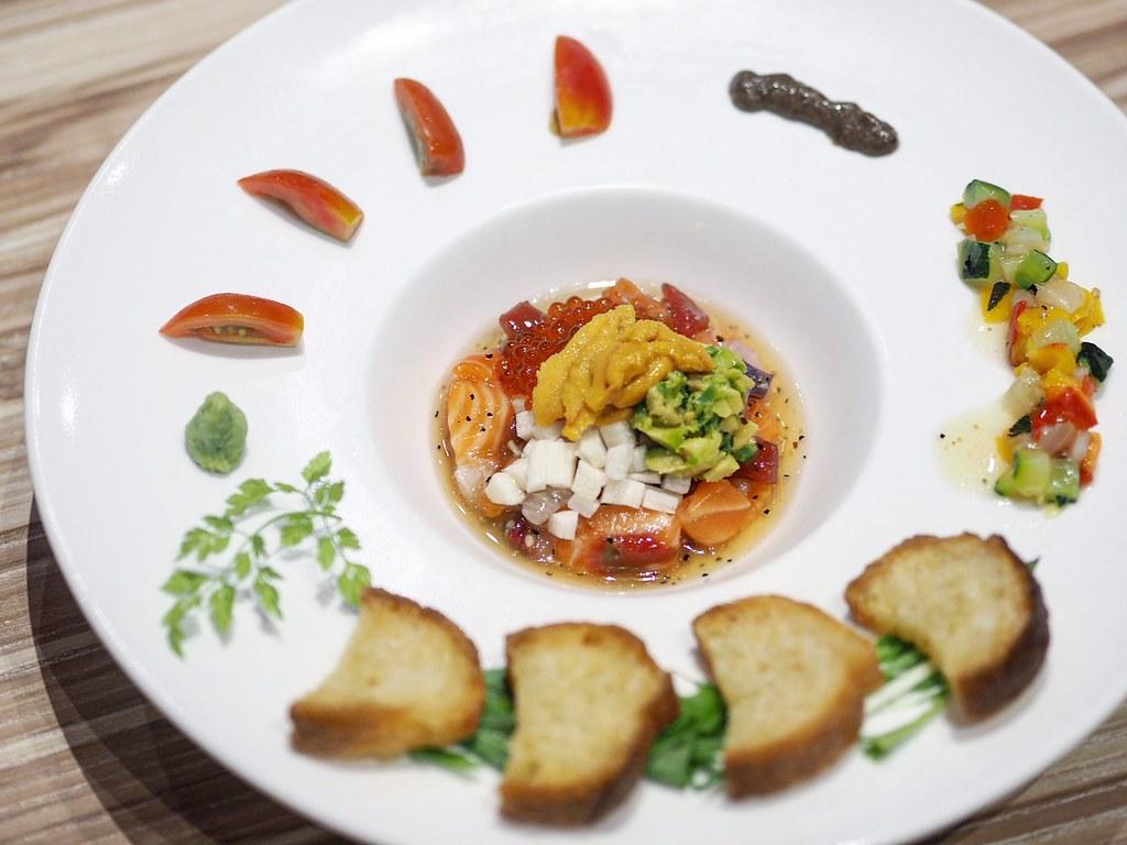 Mixed Sashimi Carpaccio2