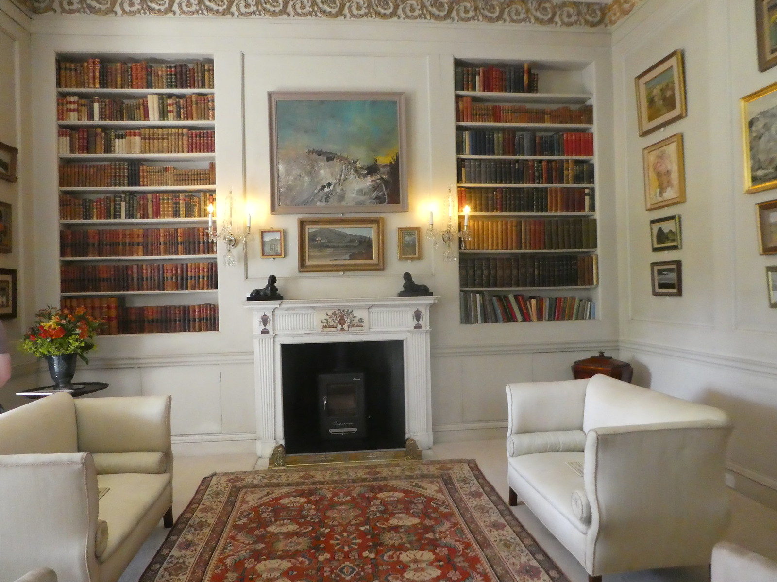 The Library, Montisfont House